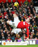 Manchester United - Gol de Rooney Fotografía