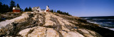 Pemaquid Lighthouse, Ocean, Water, Landmark, Maine, United States Wall Decal by  Panoramic Images
