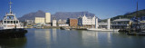 Boats Docked at a Harbor, Cape Town, South Africa Wall Decal by  Panoramic Images