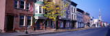 Main Street, Hudson, New York State, USA Wallsticker af Panoramic Images,
