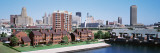 High Angle View of City Buildings, Erie Basin Marina, Buffalo, New York State, USA Wallstickers af Panoramic Images,