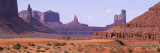 View to Northwest from 1st Marker in the Valley, Monument Valley, Arizona, USA Wall Decal by  Panoramic Images