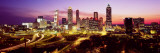 Night, Atlanta, Georgia, USA Wall Decal by  Panoramic Images