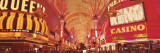 Fremont St. Experience, Las Vegas, NV Wall Decal by  Panoramic Images