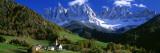 Sankt Magdalena-kirken, Italien Wallstickers af Panoramic Images