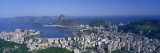 Skyline, Cityscape, Coastal City, Rio De Janeiro, Brazil Wall Decal by  Panoramic Images