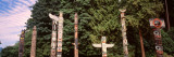 Totems, Stanley Park, Vancouver, Canada Wall Decal by  Panoramic Images