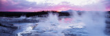 Sunset, Norris Geyser Basin, Wyoming, USA Wall Decal by  Panoramic Images