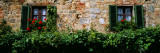 Windows, Monteriggioni, Tuscany, Italy Wall Decal by  Panoramic Images
