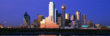 Night, Cityscape, Dallas, Texas, USA Wall Decal by  Panoramic Images