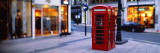 Phone Booth, London, England, United Kingdom Wall Decal by Panoramic Images