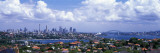 Cityscape, Harbor, Sydney, Australia Wall Decal by  Panoramic Images