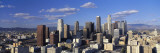 Daylight Skyline, Los Angeles, California, USA Wallsticker af Panoramic Images,