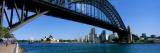 Harbor Bridge, Sydney, Australia Wallstickers af Panoramic Images,