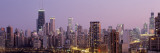 Night, Chicago, Illinois, USA Wall Decal by  Panoramic Images