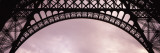 Close Up of Eiffel Tower, Paris, France Muursticker van Panoramic Images