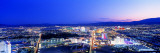 Las Vegas Strip, Nevada, USA Wall Decal by  Panoramic Images