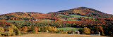 Autumn, Rolling Landscape, Barnet, Vermont, USA Wall Decal by  Panoramic Images