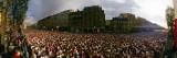 Marathon Runners, Paris, France Wallstickers af Panoramic Images