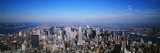 Aerial View, New York City, NYC, New York State, USA Wall Decal by  Panoramic Images