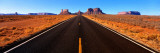 Empty Road, Clouds, Blue Sky, Monument Valley, Utah, USA Wall Decal by  Panoramic Images