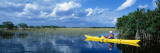 Kayaker in Everglades National Park, Florida, USA Wall Decal by  Panoramic Images