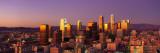 Skyline at Sunset, Los Angeles, California, USA Kalkomania ścienna autor Panoramic Images