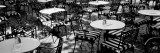 Street Cafe, Frankfurt, Germany Wall Decal by  Panoramic Images