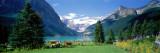 Lake Louise, Banff National Park, Alberta, Canada Kalkomania ścienna autor Panoramic Images