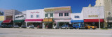 Cars Parked in Front of Stores, Beach Street, Daytona Beach, Florida, USA Wall Decal by  Panoramic Images