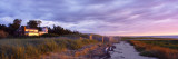 Beachside House, Water, Sunset, Cape Cod, Massachusetts, USA Wall Decal by  Panoramic Images