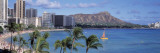 Waikiki Beach, Honolulu, Hawaii, USA Wall Decal by  Panoramic Images