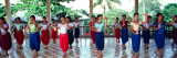 Teenage Girls at Dance Class, Phnom Penh, Cambodia Wall Decal by  Panoramic Images