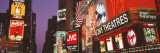 Billboards on Buildings, Times Square, New York City, New York State, USA Wall Decal by Panoramic Images