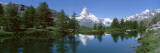 Lake, Mountains, Matterhorn, Zermatt, Switzerland Wall Decal by  Panoramic Images