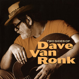Dave Van Ronk - Two Sides of Dave Van Ronk Wall Decal