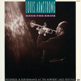 Louis Armstrong - Mack the Knife Autocollant