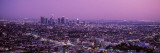 Sunset, Los Angeles, California, USA Wallsticker af Panoramic Images,