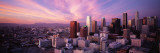 High Angle View of the City, Los Angeles, California, USA Wall Decal by  Panoramic Images