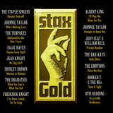 Stax Gold Wall Decal