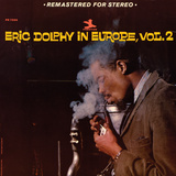 Eric Dolphy - Eric Dolphy in Europe, Vol. 2 Wall Decal