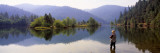 Fishing, Lewiston Lake, California, USA Wall Decal by  Panoramic Images