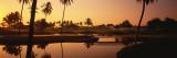 Golf Course at Sunset, Isla Navidad, Mexico Veggoverføringsbilde av Panoramic Images,
