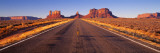 Vej, Monument Valley, Arizona, USA Wallstickers af Panoramic Images,