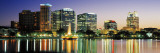 Skyline at Dusk, Orlando, Florida, USA Wall Decal by  Panoramic Images