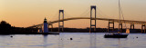 Bridge, Newport, Rhode Island, USA Wallstickers af Panoramic Images,