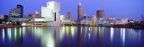 Museum, Rock and Roll Hall of Fame, Cleveland, USA Wallstickers af Panoramic Images,