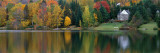 Lake with House, Canada Wall Decal by Panoramic Images 