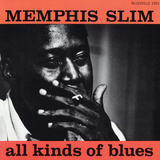 Memphis Slim - All Kinds of Blues Wall Decal