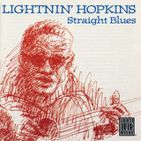 Lightnin' Hopkins - Straight Blues Autocollant mural